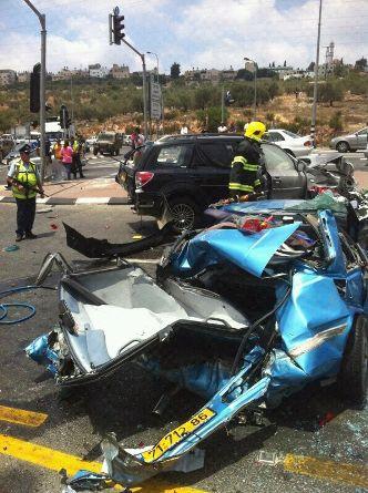 הרוג וחמישה פצועים בתאונת דרכים ליד אריאל