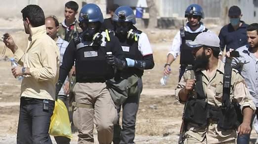 U.N. chemical weapons experts