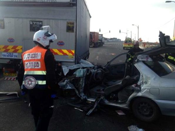 תאונת דרכים קטלנית סמוך לצומת כנות