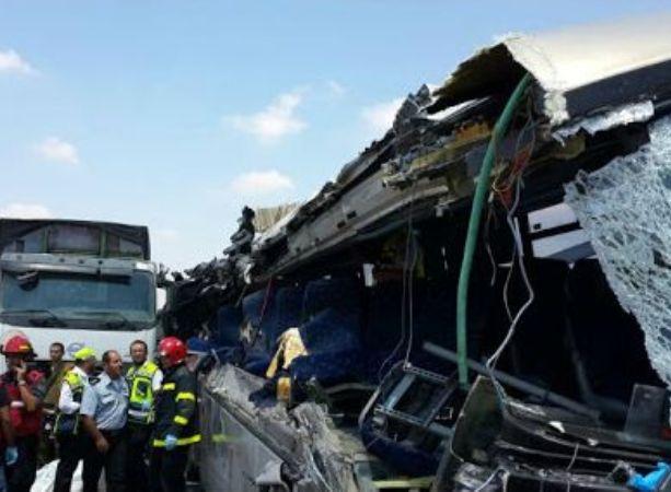 תאונה קטלנית בכביש שש, ארבעה הרוגים ועשרות פצועים