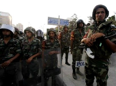 25 חיילים מצרים נטבחו בסיני במארב חמושים