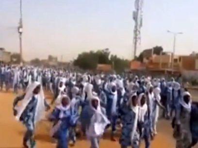 מפגינים בסודאן