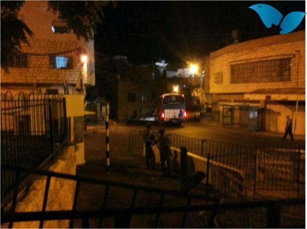 זירת הירי בחברון (צילום: סוכנות תצפית)