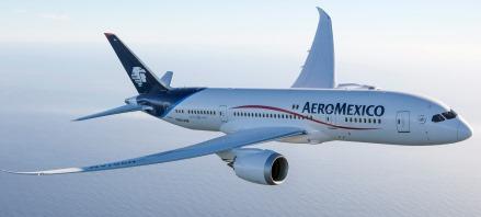 בואינג 787 של אאירומקסיקו. הוזמנו 9 מטוסים מדגם זה