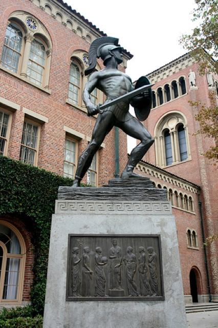 אוניברסיטת דרום קליפורניה. לשם העביר פרופ' ורשל את המשך מחקרו (צילום: ויקיפדיה)