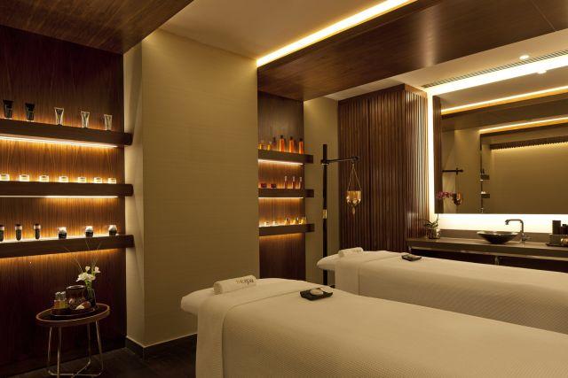 הספא במלון דיויד אינטרקונטיננטל תל אביב. שבעה חדרי טיפולים. (צילום: עמית גירון)