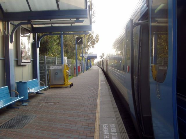 תחנת הרכבת בנהרייה. הכפלת המסילה תאפשר להגדיל את תדירויות הרכבות