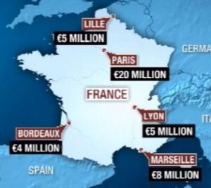 צרפת - עלות המס החדש למועדונים הגדולים