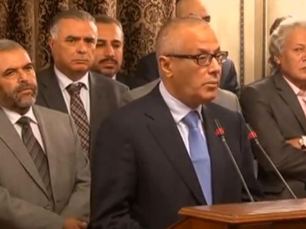 הזהיר מכניסת מיליציות לטריפולי. ראש ממשלת לוב, עלי זידאן