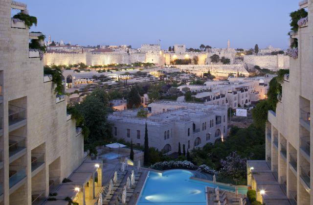 מלון מצודת דוד בירושלים. מרבית ההזמנות הן דווקא של יהודים מצפון אמריקה ומאירופה