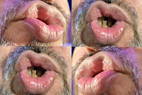 Small talk: הצלמת תמר מצפי הסתכלה להם בשפתיים