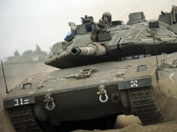 ארבעה לוחמי שריון נפצעו בהתלקחות טנק