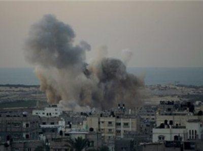 """צה""""ל תוקף בעזה בתגובה להרג אזרח ישראלי הבוקר"""