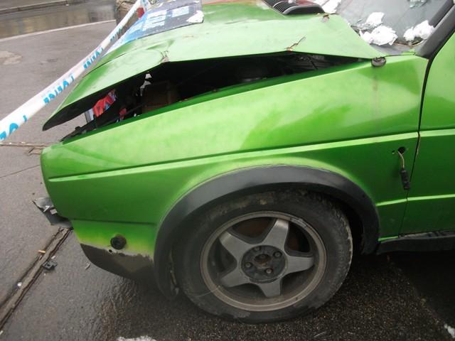 תאונת דרכים מתרחשת בהרף עין