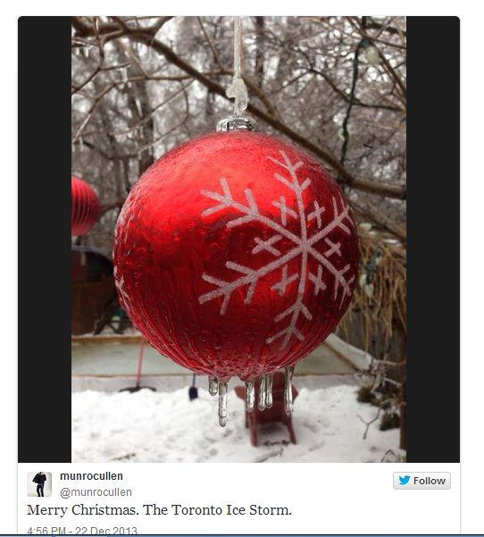 חג מולד קפוא בקנדה