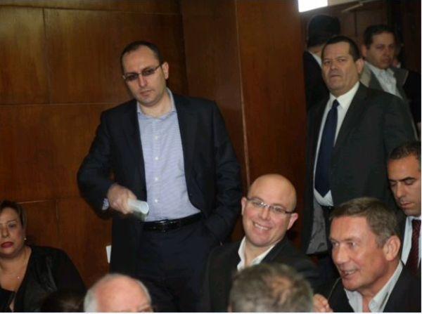 אם יאושר גילוי הנכסים תעבור השליטה מדנקנר (מימין) לבן משה (משמאל) ושותפו אלשטיין  (צילום: מוטי קמחי)