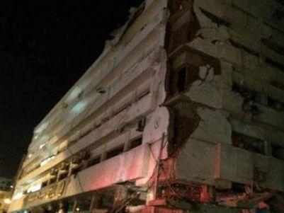 מטה המשטרה לאחר הפיגוע (צילום: אל אהראם)