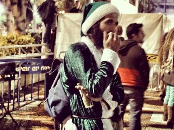 סנטה ירוק (צילום: נירה ידין)