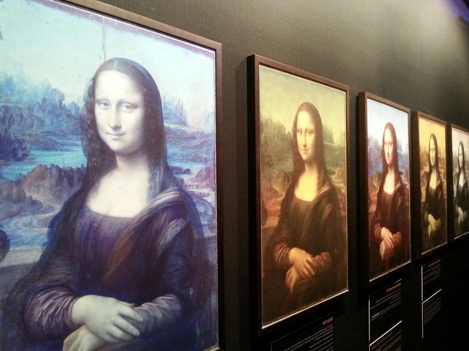 הגאונות של לאונרדו דה וינצ'י, החיוך של מונה ליזה
