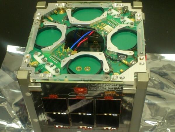 הלוויין הזעיר דוכיפת (צילום: באדיבות משרד המדע, הטכנולוגיה והחלל)