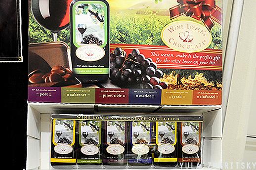 שוקולד bridgebrandschocolate , סדרה לאוהבי יין. צילום: יולה זובריצקי