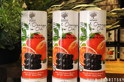 תערובת לבראוני עם שמן זית בטעם תפוז . צילום: יולה זובריצקי