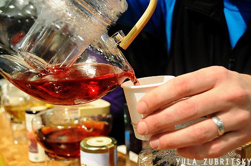 The Republic of Tea, מגוון טעמים של תה.צילום: יולה זובריצקי