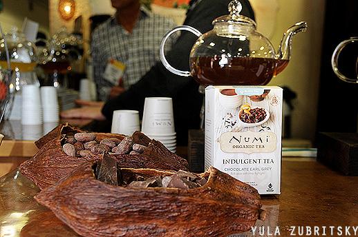 Numi תה עם שוקולד, רק חלק ממגוון עשיר של טעמים. צילום : יולה זובריצקי