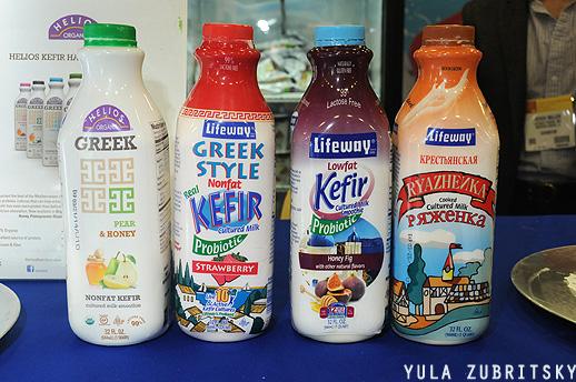 liteway, יוגורטים ומשקאות חלב בסגנון רוסי. צילום:יולה זובריצקי