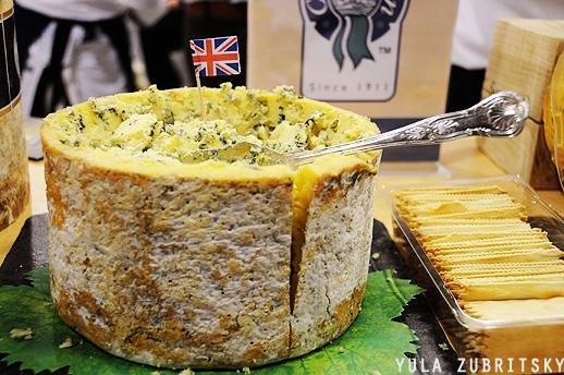 גבינות , אנגליה. צילום: יולה זובריצקי