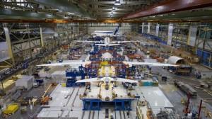 אולם הייצור של מטוסי 787