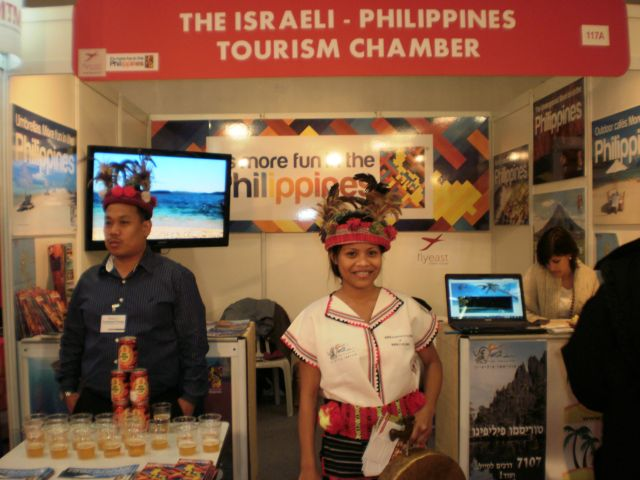 הביתן הפיליפיני בשנה שעברה. 41 מדינות משתתפות בתערכה השנה(צילום: עירית רוזנבלום)