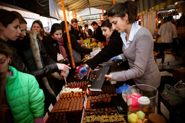 פסטיבל השוקולד בתחנה