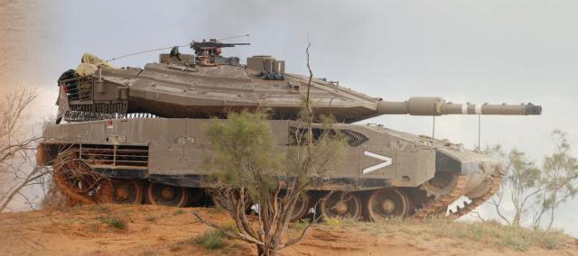 טנק מרכבה ישראלי