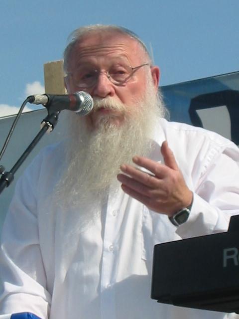 """הרב חיים דרוקמן: """"לא לקחת חלק בהפגנת החרדים"""" (צילום: ויקיפדיה)"""