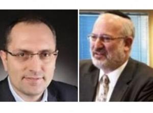 """אדוארדו אלשטיין ומוטי בן משה. מונו ליושבי ראש משותפים דסק""""ש"""