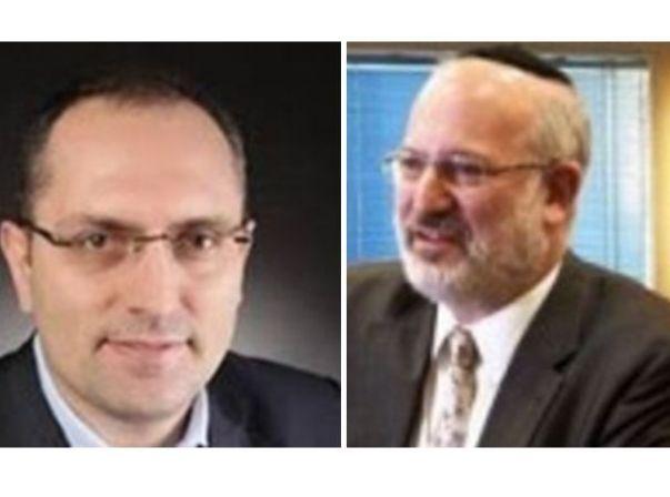 אדוארדו אלשטיין ומוטי בן משה. מונו ליושבי ראש משותפים דסק