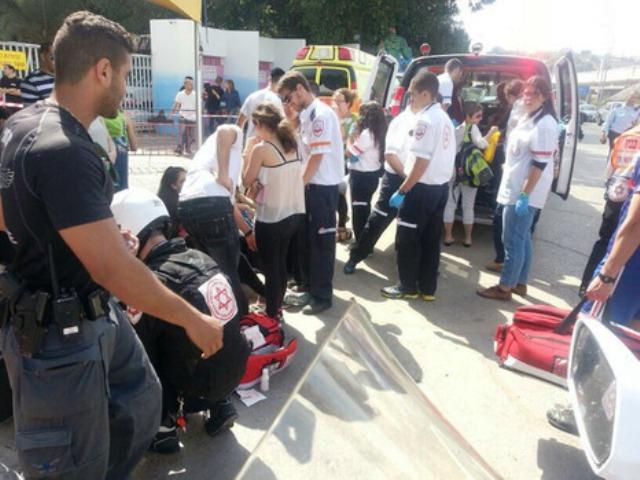 הקרוסלה בלונה פארק נבלמה בפתאומיות – 21 ילדים נפצעו