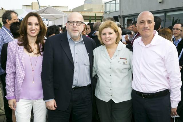 מוטי לוי, אורנה ברביבאי, ירון דקל, תמי גורמן כהן (צילום: לם וליץ סטודיו)