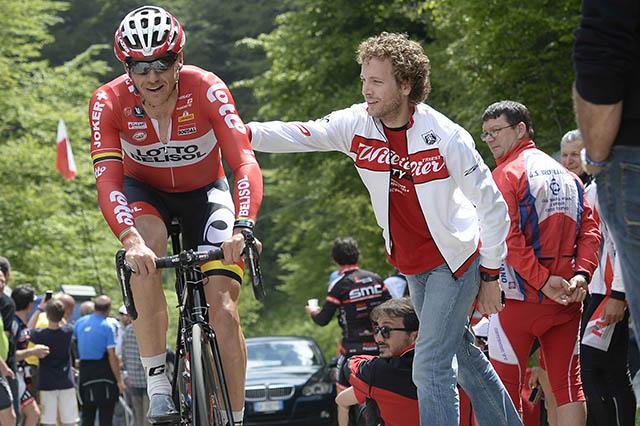 טים וולנס מבלגיה (לוטו-בליסול), אף הוא רוכב מטפס נהדר, הגיע במקום ה-9. צילום: Fabio Ferrari - LaPresse