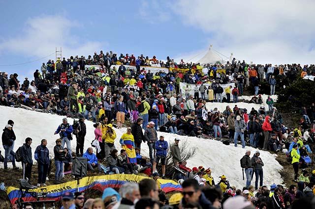 על פסגת הזונקולאן. צילום: Marco Alpozzi / lapresse