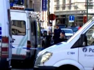 הפיגוע במוזיאון היהודי בבריסל (צילום: מסך)