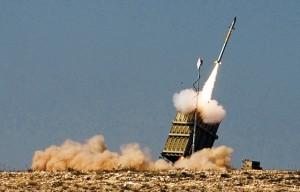 כיפת ברזל יירטה שתי רקטות (צילום ארכיון: רפאל)