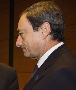 נשיא הבנק המרכזי האירופי מריו דראגי
