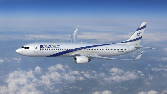 בואינג 737-900ER של אל על. צילום יח