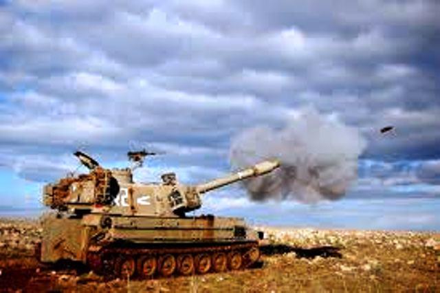 """תומ""""ת בעת ירי (צילום ארכיון: וויקיפדיה)"""