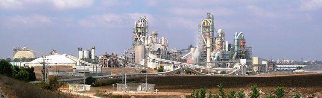 מפעל נשר רמלה שישאר ברשות החברה יחד עם נשר חיפה. צילום: ויקיפדיה