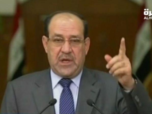 אל מאלכי (צילום: הטלוויזיה העיראקית)