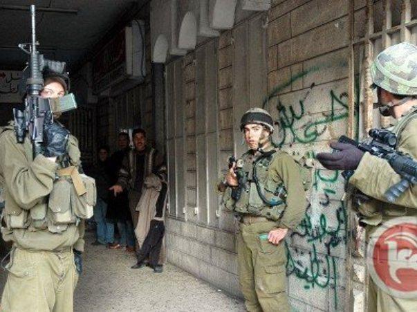 מעצרים בחברון (צילום: סוכנות מען)