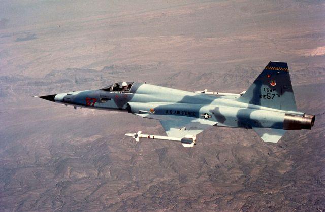 מטוס F-5, דגם חד מושבי. צילום: ויקיפדיה
